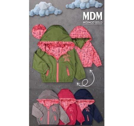 MiDiMOD 20309 Куртка-ветровка Двухсторонняя 9-24 месяцев